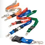 Custom Seat Belt Buckle USB Drive w/ Lanyard - 2 GB