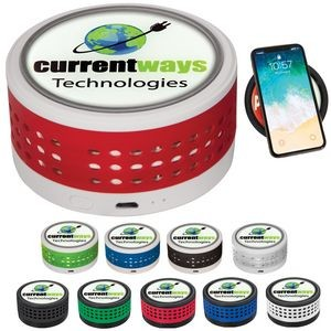 Wireless Charger w/Bluetooth Speaker