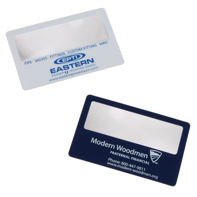 Spectrum printing and promotions promotional products and apparel business card magnifier colourmoves