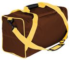Custom 15 Oz. Dyed Duck Canvas Vacation Carry on Duffel - 18