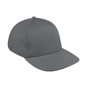 USA Made Solid Color Twill Snapback Skate Hat
