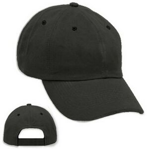 Blank - Black Unstructured Velcro Strap Baseball Cap Blank - 6BCUVE031010 -  IdeaStage Promotional Products 8735441e708
