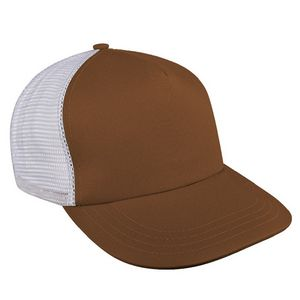 Custom USA Made Contrast Mesh Back Meshback Snapback Skate Hat