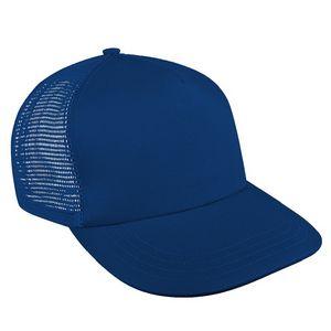 Custom USA Made Solid Mesh Back Brushed Front Snapback Skate Hat