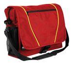 Custom 600 Denier Poly Piping Messenger Bag - 16