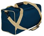 Custom 15 Oz. Dyed Duck Canvas Vacation Carry on Duffel - 28