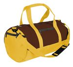 Custom Dyed Duck Canvas Reinforced Roll Bag - 18