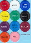 Custom Solid Color Plastic Poker Chips (1.56