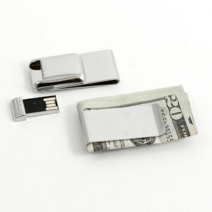 Money Clip w/ 2 Gb Flash Drive