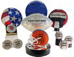 Custom Rhinestone Emblazoned full size Volley ball