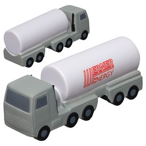 Custom Printed Oil Truck Stressball Squeezies