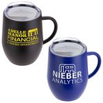 Calibre 12 oz Vacuum Insulated Ceramic Inside-Coated Coffee Mug