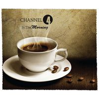 Premium Microfiber Cleaning Cloth - Coffee