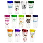 Seabreeze 22 oz Tritan™ Tumbler with Translucent Lid
