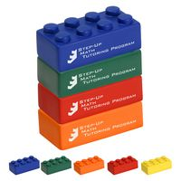 Building Block 4 Piece Set Stress Reliever