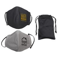 Refresh Microfiber Cooling Mask with Travel Pouch