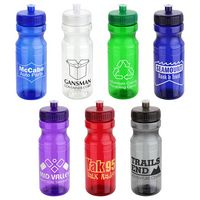 Cycler 24 Oz. PET Eco-Polyclear™ Bottle w/Push-Pull Lid