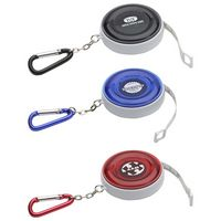 Round Carabiner Tape Measure