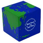 Custom Earth Cube Stress Reliever