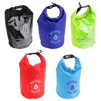 5-Liter Waterproof Gear Bag With Touch-Thru Pouch