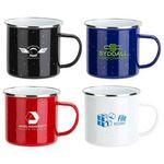 Custom Foundry 16 oz Enamel-Lined Iron Coffee Mug