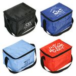 Custom Snow Roller 6-Pack Cooler Bag