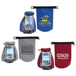 Custom 2-Liter Waterproof Gear Bag with Touch-Thru Phone Pocket