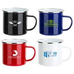 Custom Foundry 16 oz Enamel-Lined Iron Coffee Mug