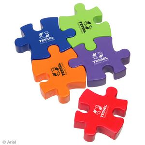 Connecting Puzzle Piece Stress Reliever