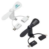 3-in-1 Mini Phone Fan