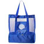 Custom Nautical Insulated Beach Bag