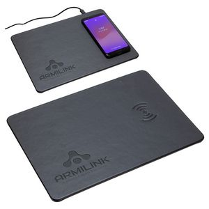 Avalon Mouse Pad with Wireless Charger