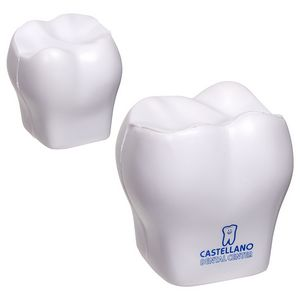 Custom Imprinted Tooth Stressball Squeezies