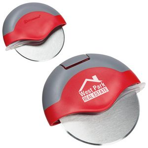 Custom Designed Stainless Steel Pizza Cutters!
