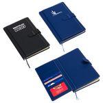 Custom Travel Journal w/Card Pockets