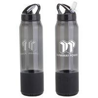 Fusion 22 oz Combo Tritan™ Water Bottle + Wireless Speaker