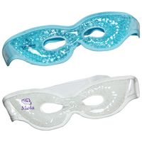 Premium Plush Eye Mask Aqua Pearls