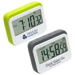 Custom Soft Touch Widescreen Kitchen Timer/Clock