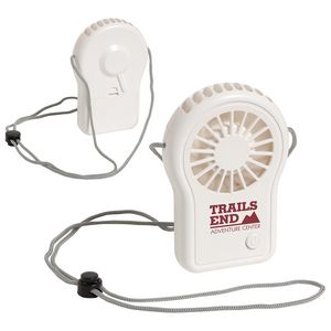 Cool Breeze Portable Fan with Adjustable Lanyard