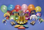 Custom HNY Monaco Style New Years Party Kit for 50 People