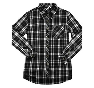 f876e466f3fc6c Ladies Plus Size Essential Flannel Buttondown - F50PLUS - IdeaStage  Promotional Products