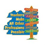 Custom Teachers Make All Other Professions Possible Lapel Pin With Presentation Card