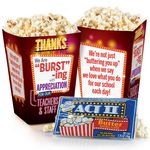 Custom We Are Bursting With Appreciation For Our Teachers & Staff Popcorn Snack Pack