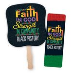 Custom Faith In God, Strength In Community 5-Piece Hand Fan And Bible Marker Combo