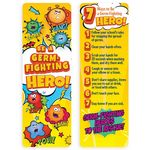 Be A Germ Fighting Hero Bookmark