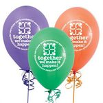 Custom Environmental Services Together We Make It Happen! Balloons