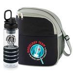 Custom Radiology Team An Inside Look At Excellence Fruit Infuser Water Bottle & Lunch/Cooler Bag Gift Set