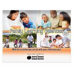 Custom Bilingual Family Learning Perpetual Calendar - Personalization Available