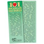 101 Healthy Snacks Bookmark (Spanish) - Personalized