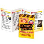 Custom A Guide To ALICE An Active Shooter Response Plan Pocket Pal - Personalization Available